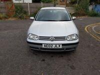 2002 Volkswagen Golf 1.9 SDI E 5dr Manual @07445775115