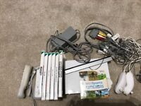 Wii with 6 games and balance board