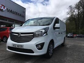 Vauxhall Vivaro L1H1 2700 SPORTIVE CDTI (white) 2017-03-31