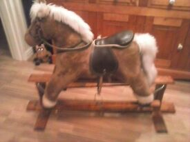 Mamas & Papas Rocking Horse good condition located in Sunbury on Thames