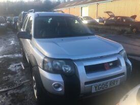 LANDROVER FREELANDER ALL PARTS AVAILABLE