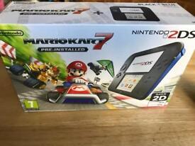 New Nintendo 2DS+ Mario Kart 7 game