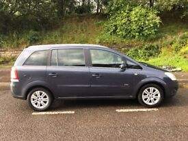 Vauxhall zafira 1.9 litre diesel automatic 7 seater This is a 2008 car