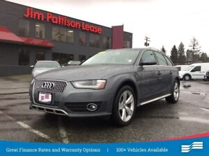 2014 Audi A4 allroad Pro Plus w/NAV, Roof, Leather - Rare