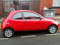2003 Ford KA Collection Manual in Red. 1.3 Petrol low mileage