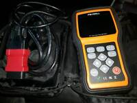 foxwell nt401 code reader and oil reset tool