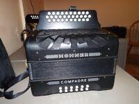 Hohner Compadre BC C Sharp Tunning Accordion £290