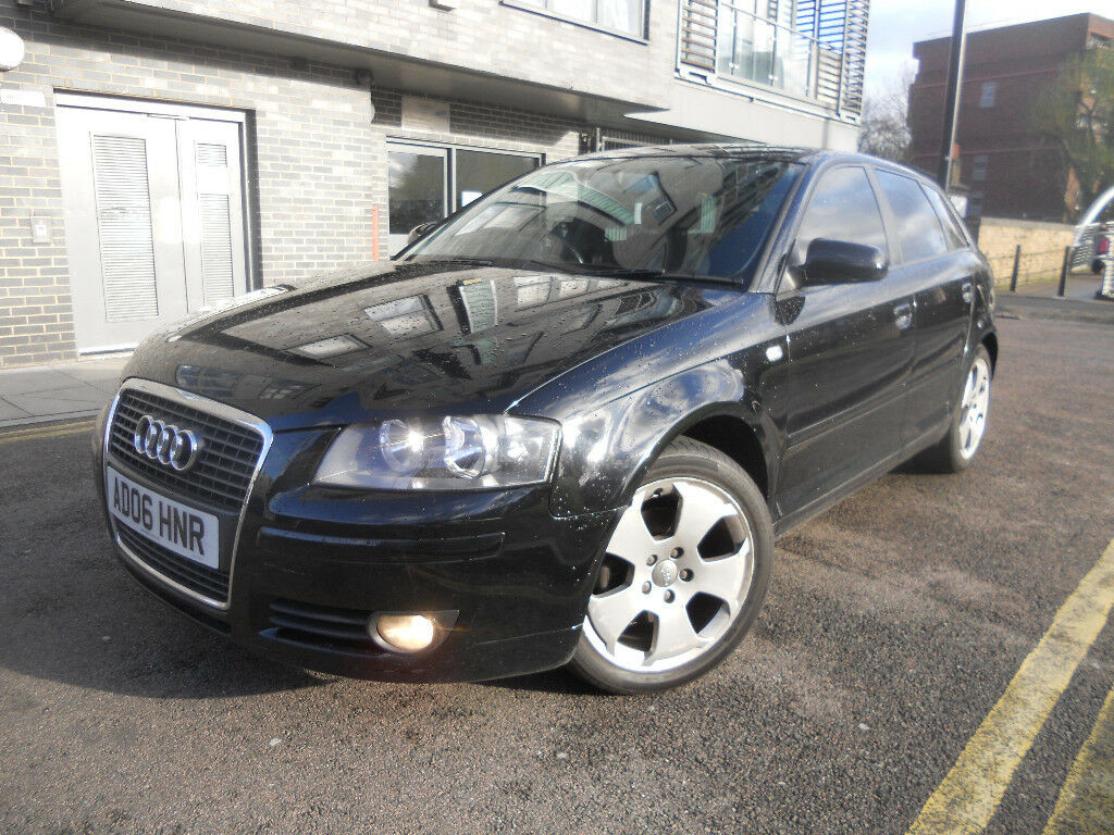 2006 audi a3 auto automatic tdi diesel in black not golf focus civic astra a2 bmw e46 passat i30. Black Bedroom Furniture Sets. Home Design Ideas