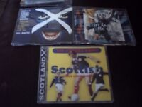 3 x cds from 1998..scotland and the world cup..