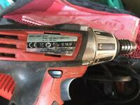 Milwaukee C12D 12v Li-Ion Impact Driver come with 2 batteries case and charger