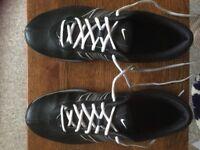 Ladies black golf shoes size 7