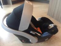 Mamas & Papas Cybex Aton baby car seat + Pram adaptor - Good condition