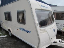 Bailey Ranger 470/4 Series 5 4 Berth End Bathroom Touring Caravan 2008