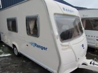 Bailey Ranger 470/4 Series 5 4 Berth End Bathroom Touring Caravan 2008