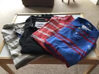 Men's Short Sleeve Polo Shirt Bundle XL