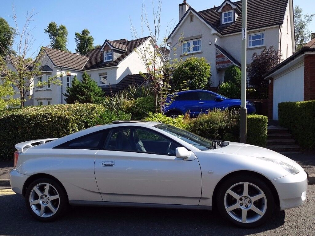 (2004) TOYOTA Celica VVTi (Premium+Sport) LOW MILEAGE, FULL LEATHER, TOP SPEC, FREE DELIVERY/MOT/TAX
