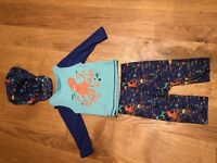 3 part swim wear with sunhat