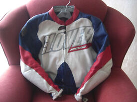 Mens Leather Motorbike Jacket.
