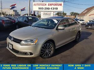 2013 Volkswagen Jetta Highline Navigation/Leather/Camera/Sunroof