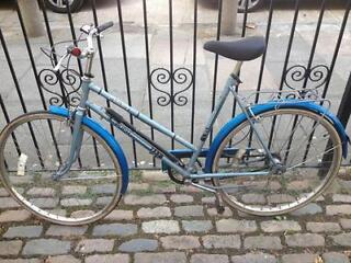 Bike and brand-new Giro helmet