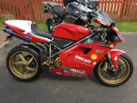 Ducati 996 carl Fogarty race replica