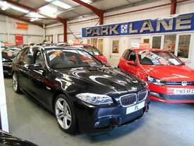 BMW 5 Series 520d M Sport 5dr Steptronic Auto with paddle shift (carbon black metallic) 2012