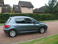 peugeot 307 s hdi 2006 1560 cc mot aug 17 stamps in service book
