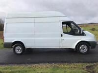 Ford transit long wheelbase hi top