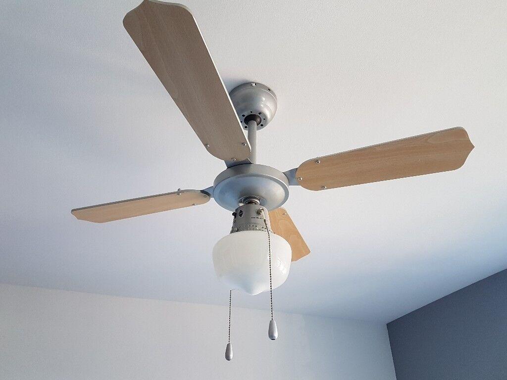 Ceiling Light With Fan