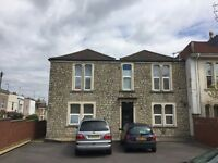 Large studio flat to rent on Ashley down road with off street parking