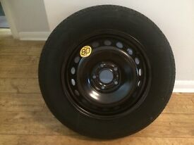 Genuine Spare Wheel and Tyre for Nissan Qashqai 2014 unused for sale