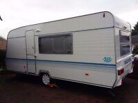 2007 Model year Adria Altea 502DK 5 berth caravan
