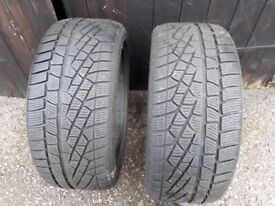 Pair of Pirelli Sottozero Winter tyres 245/40 R19 98V