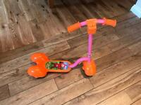 Teletubbies po scooter in like new condition