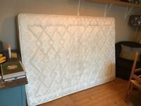 Standard Double Mattress: £70 or nearest offer. (Spare and great spring condition!)