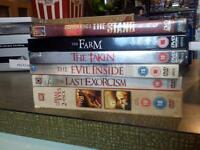 Collection of horror dvds