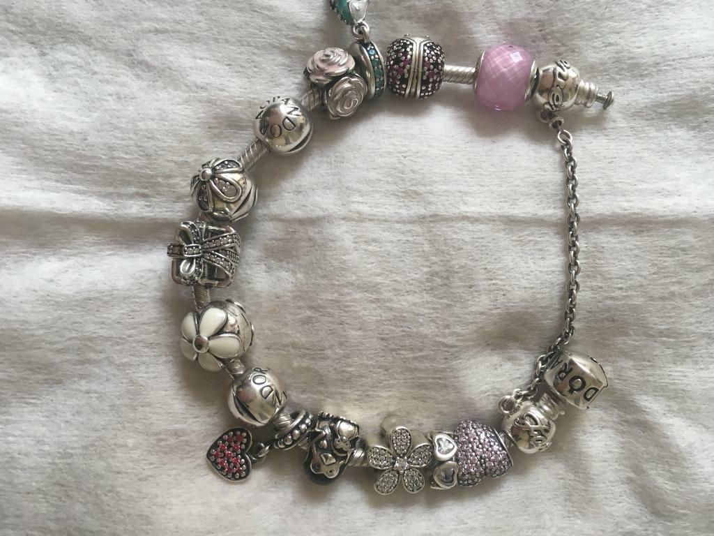 2eb1fcd9f Pandora Bracelet with 14 Charms | in Barwell, Leicestershire | Gumtree
