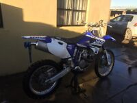 Yzf426 2000 road registered