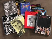 Collection of Music Books (American Songbook, Jazz, Swing, etc). 10 Books.