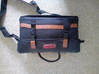 Pullman Black Padded Camera/Video Camera Shoulder Bag