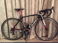 Specialized S Works Tarmac with Dura Ace Di2 electronic group set, Pro spec bike, almost brand new