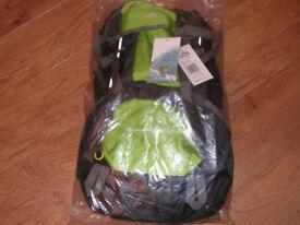 New 50+5L Rucksack plus hip bags
