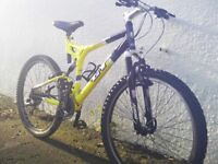 GT i-Drive 4.0 mountain bike - aluminium frame- dual suspension - 27 speed