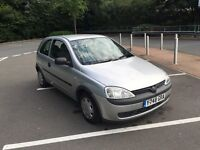 Vauxhall Corsa 1.0i 12v club 3dr - 2001 - £550