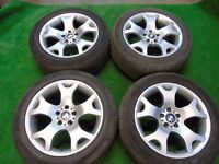 "BMW X5 19"" ALLOY WHEELS WITH TYRES"