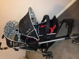 Cosatto Double Buggy/ Pushchair
