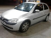 2003 VAUXHALL CORSA SXI 16V MANUAL **LONG MOT**