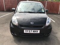 2007 daihatsu sirion mileage 45000 mot 12/2108 tax £30 a years £1499