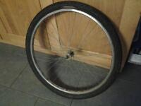 Front Spare Wheel, Tyre & Tube £5