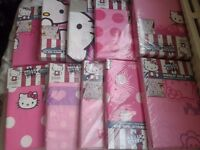 Hello kitty single bedding set new